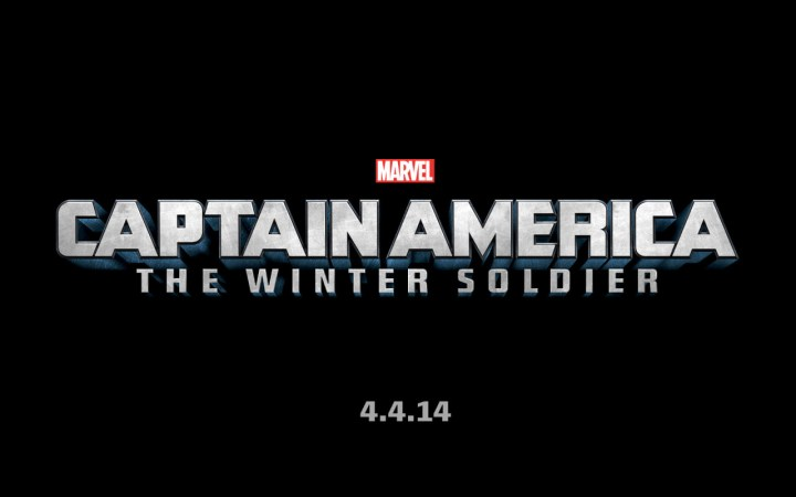 Marvel Captain America The Winter Soldier Logo