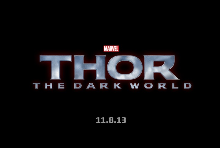 Marvel Thor 2 The Dark World Logo