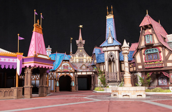 Disneyland Fantasy Faire Model 2