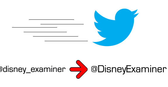 Disneyexaminer New Twitter Handle