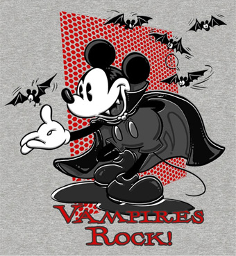 Disneyland Halloween Time Merchandise Vampire Mickey