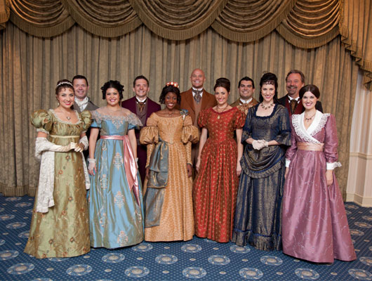 Disneyland Voices Of Liberty Group Photo