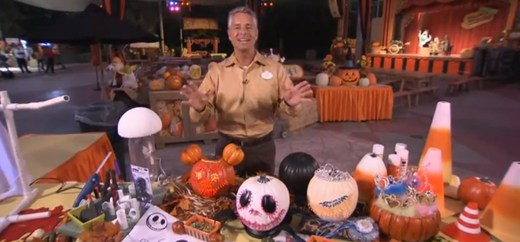 Disneyland Halloween Time Decorating