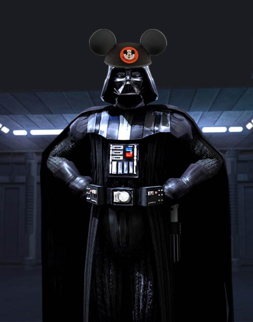 Darth Vader Star Wars Mickey Ear Hat