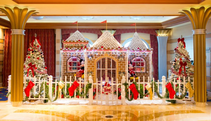 Disney Cruise Line Gingerbread House