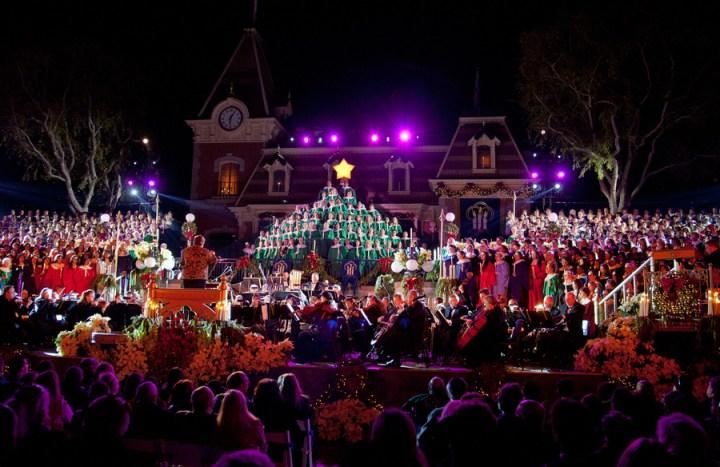 Disneyland Candlelight Processional