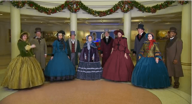 Voices Of Liberty Christmas Disneyland