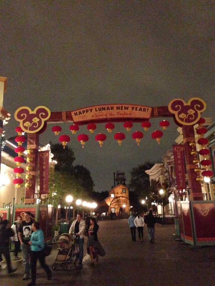 Lunar New Year Disney California Adventure