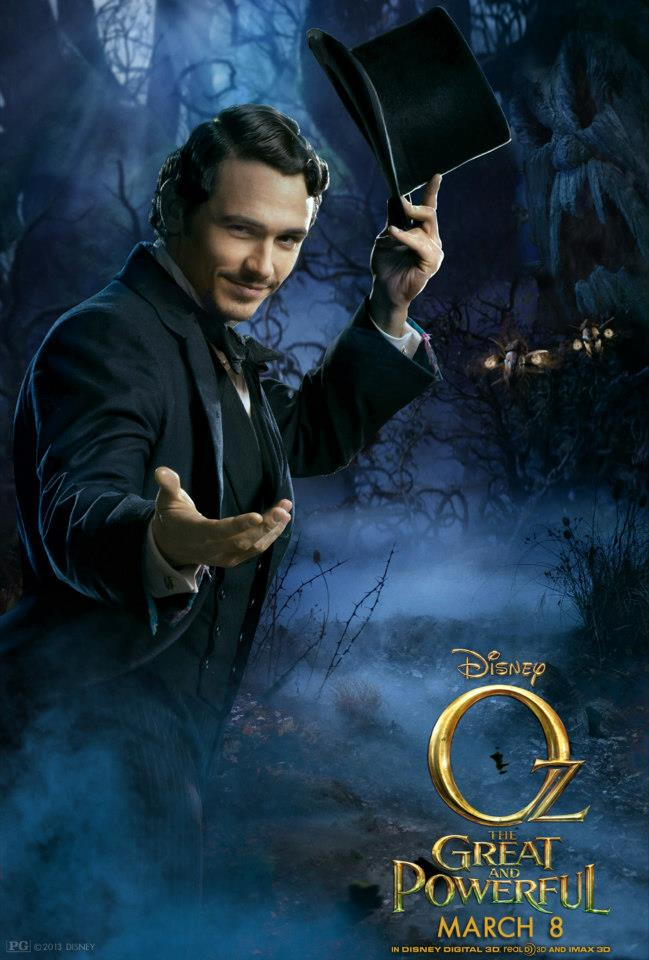 Oscar Diggs Played By James Franco Oz The Great And Powerful