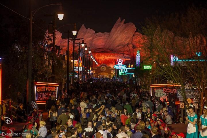 Disney California Adventure Grand Reopening Disneyexaminer Coverage Day 1 Entry Route 66