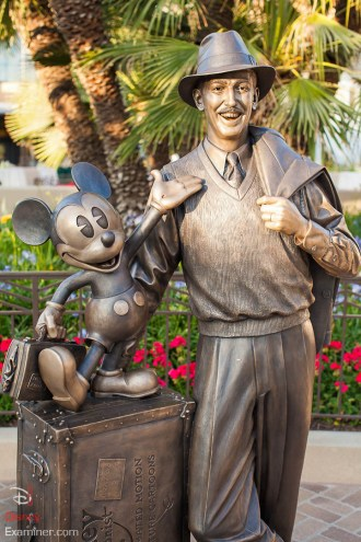 Disney California Adventure Grand Reopening Disneyexaminer Coverage Day 2 Buena Storytellers Statue
