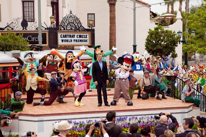 Disney California Adventure Grand Reopening Disneyexaminer Coverage Day 3 Exit Bob Iger