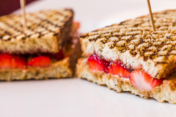 La Brea Bakery Cafe Dole Menu Almond Butter And Strawberry Sandwich