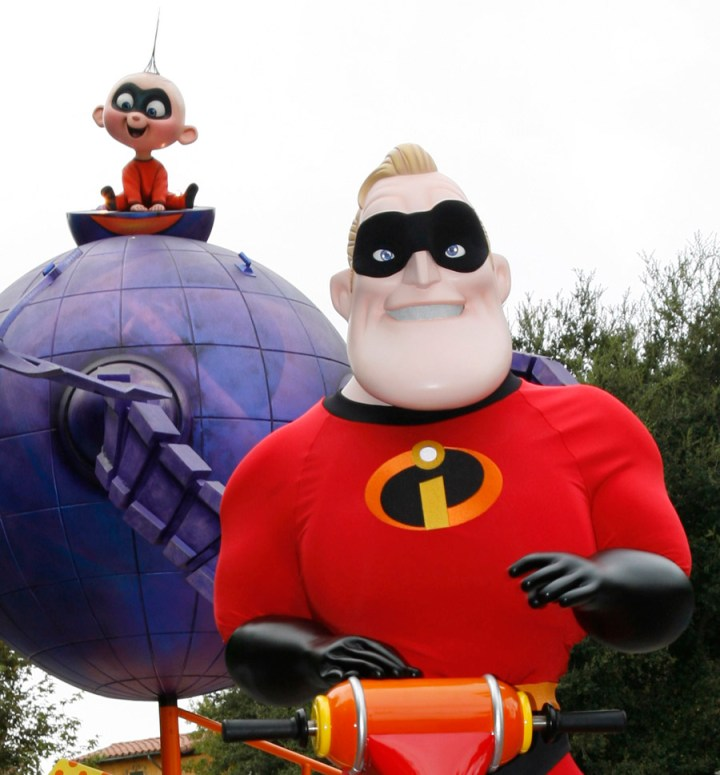 Mr Incredible Jack Jack Disney Pixar Play Parade Disney California Adventure