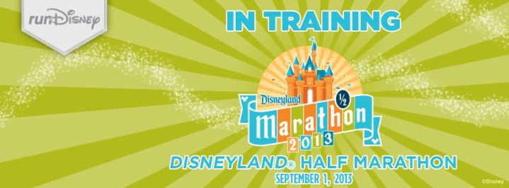 2013 Disneyland Half Marathon Weekend In Training Banner