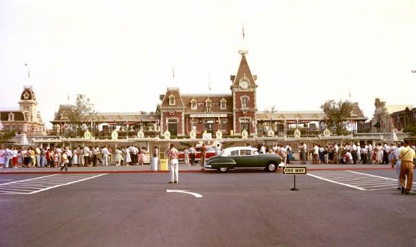 Disneyland Opening Day Rare Color Photo
