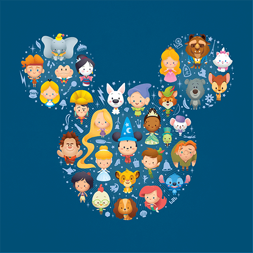 Jerrod Maruyama A World Of Cute Disney Character Art