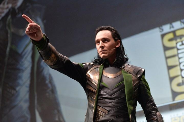 Loki Disney Marvel Thor 2 The Dark World Tom Hiddleston Comic Con 2013
