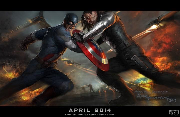 Marvel Captain America The Winter Soldier Concept Art