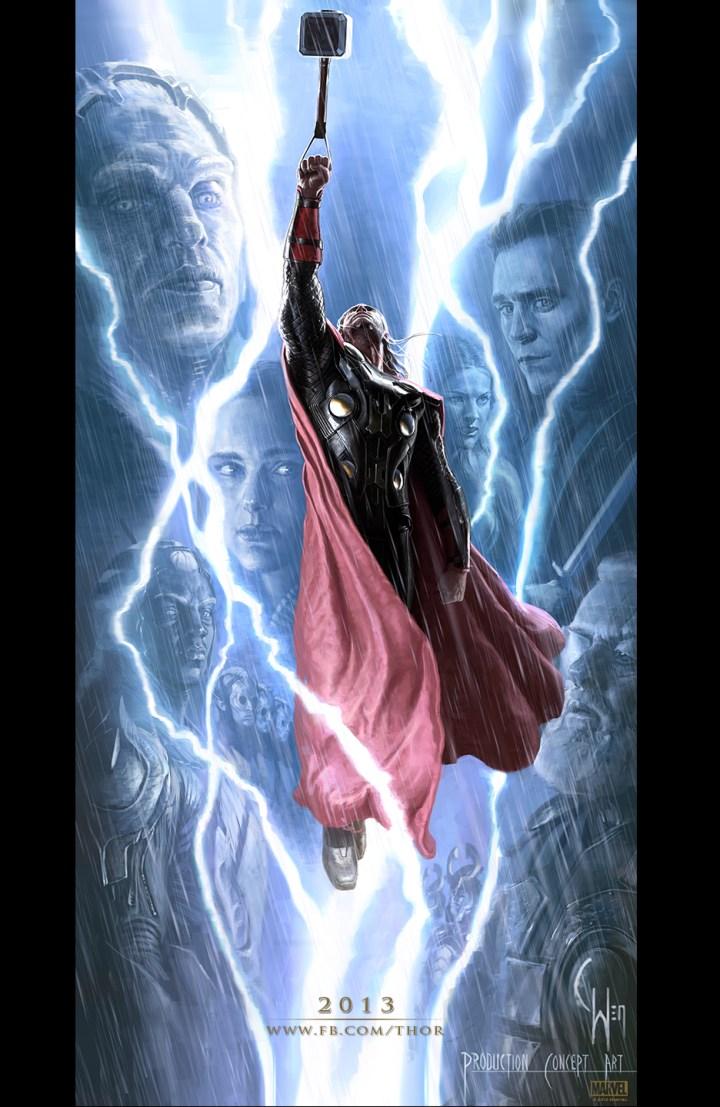 Marvel Thor The Dark World Concept Art