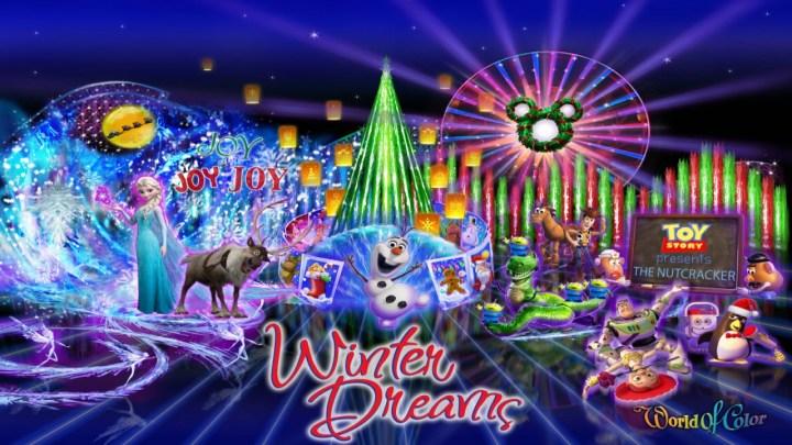 World Of Color Winter Dreams Concept Art Disney California Adventure