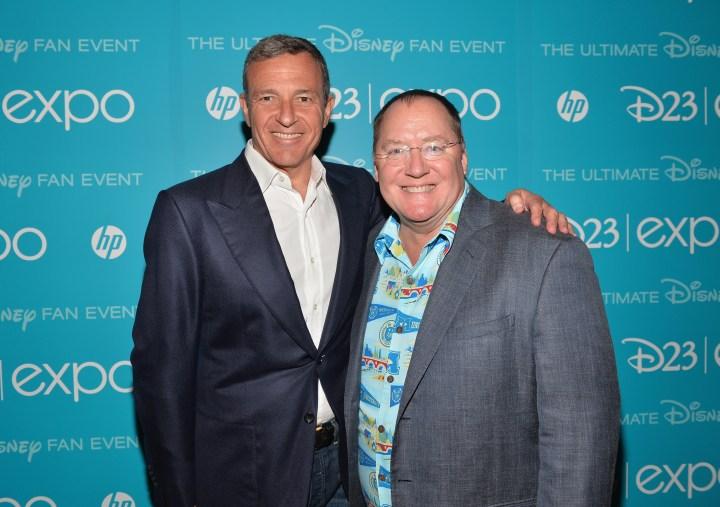 2013 D23 Expo Walt Disney Animation Studios Presentation Disney Ceo Bob Iger John Lasseter