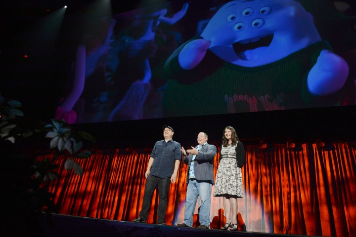 2013 D23 Expo Walt Disney Animation Studios Presentation Peter Sohn John Lasseter Denise Ream The Good Dinosaur