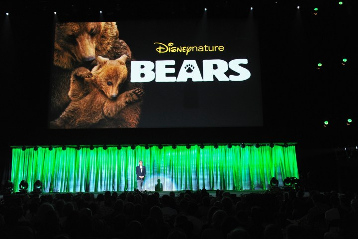2013 D23 Expo Walt Disney Studios Live Action Films Presentation Alan Horn Disneynature Bears