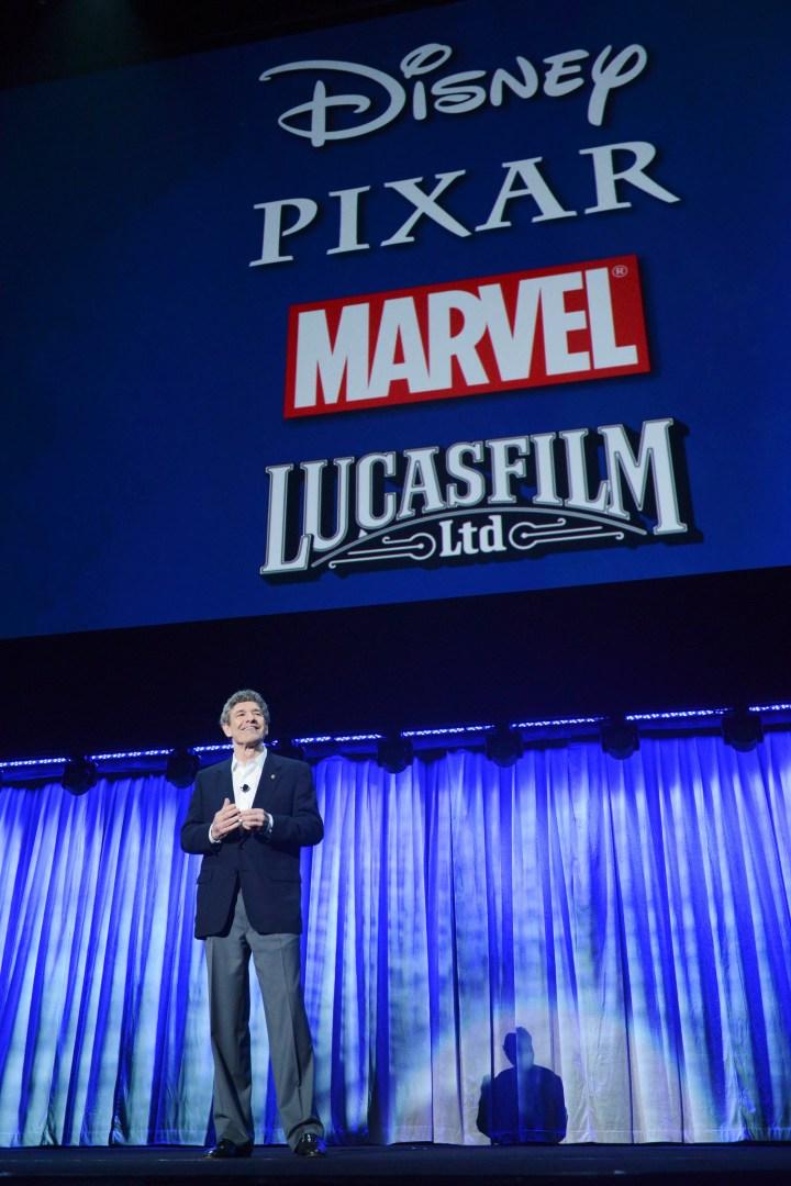 2013 D23 Expo Walt Disney Studios Live Action Films Presentation President Alan Horn