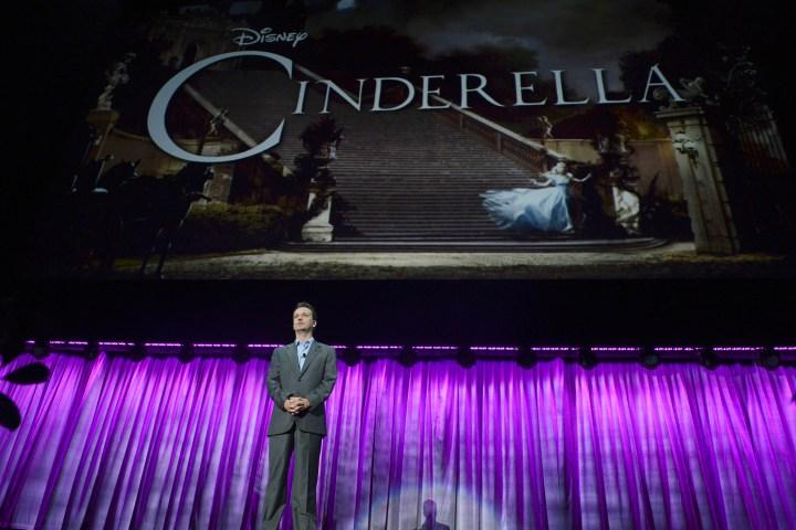 2013 D23 Expo Walt Disney Studios Live Action Films Presentation Sean Bailey Cinderella