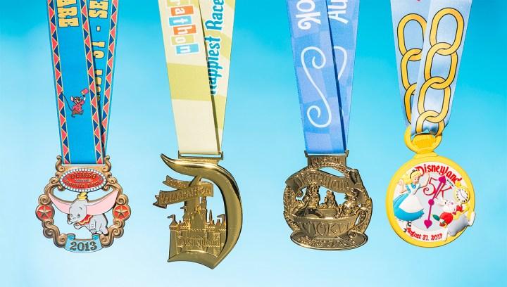 2013 Disneyland Half Marathon Weekend Medals