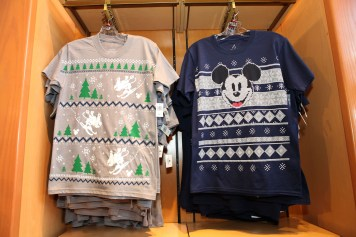 Disney Parks Christmas Winter Sweater Tshirts