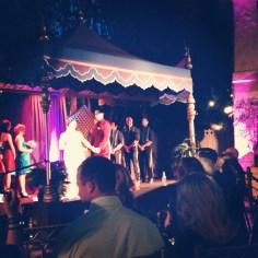 Sianez Disney Fairy Tale Wedding Disneyland Ceremony Aladdins Oasis Adventureland