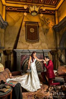 Sianez Disney Fairy Tale Wedding Disneyland Dparkphotography Twilight Zone Tower Of Terror Lobby