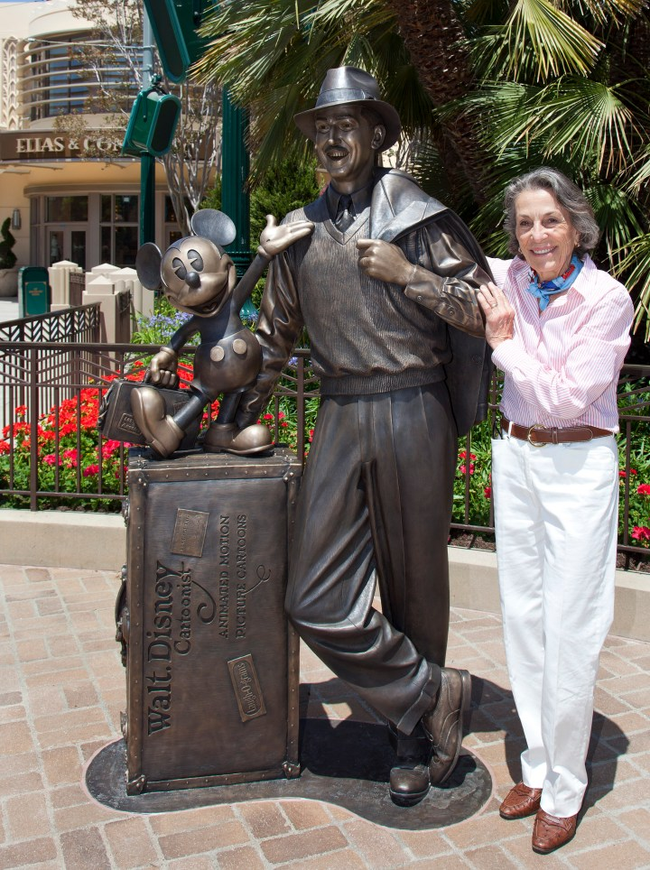 Diane Disney Miller Walt Disney Storytellers Statue Disney California Adventure Park Expansion