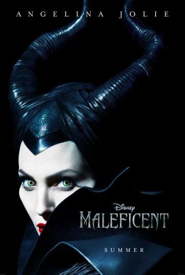 Disney Maleficent First Movie Poster Angelina Jolie
