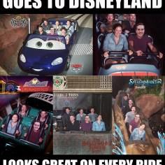 Disneyland Disney Side Social Media All Stars World Premiere Event Ridiculously Photogenic Guy Zeddie Little Meme