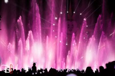 Disneyland Resort Holidays Press Event 2013 World Of Color Winter Dreams Premiere New Lighting Effects Mickeys Fun Wheel