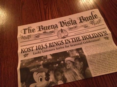 Kost 1035 Fm Disney California Adventure Holiday Kickoff Private Party 2013 Special Buena Vista Street Bugle