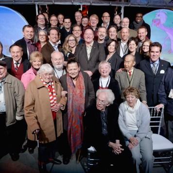 Walt Disney Animation Studios 90 Anniversary Celebration Walt Disney Studios Lot Group Shot