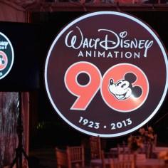Walt Disney Animation Studios 90 Anniversary Celebration Walt Disney Studios Lot Logo