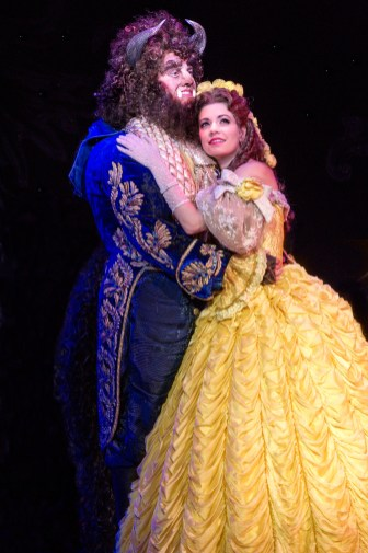 Disney Beauty And The Beast Musical Tour Segerstrom Center Opening Night Portrait