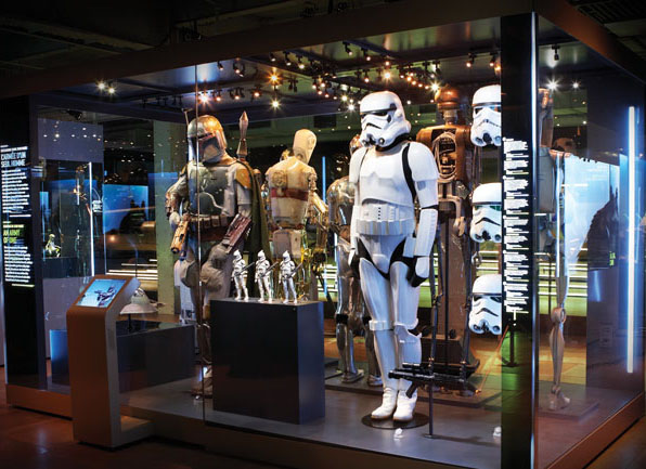 Lucas Cultural Arts Musuem Star Wars Traveling Exhibit Concept