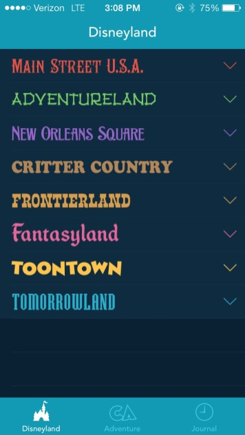Magic Passport Iphone App Pacific Helm Design Disneyland