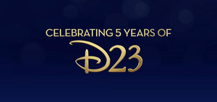 Disney D23 Celebrating 5 Year Anniversary