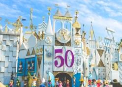 Disney Its A Small World 50th Anniversary Kickoff Disneyland Attraction