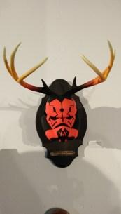 Disney Consumer Products Lucasfilm Neff Star Wars Legion Art Exhibit Darth Maul Deer Head