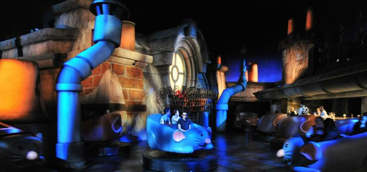 Disneyland Paris La Place De Remy Ratatouille Attraction Inside Preview