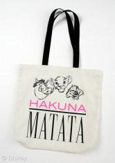 Wet Seal Disney Consumer Products Lion King 20 Anniversary Summer Fashion Line Hakuna Matata Tote