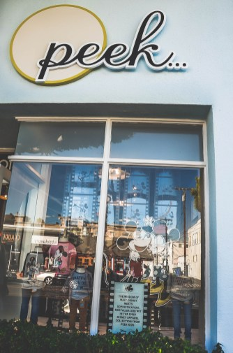 Disney Collection Peek Kids Fashion Boutique Exterior Santa Monica California